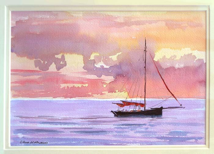 Clive Williams artist painting for sale